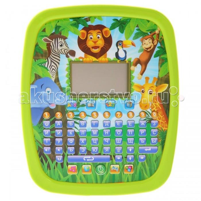 Электронные игрушки Veld CO Обучающий планшет Джунгли 32 функции детские компьютеры veld co обучающий планшет