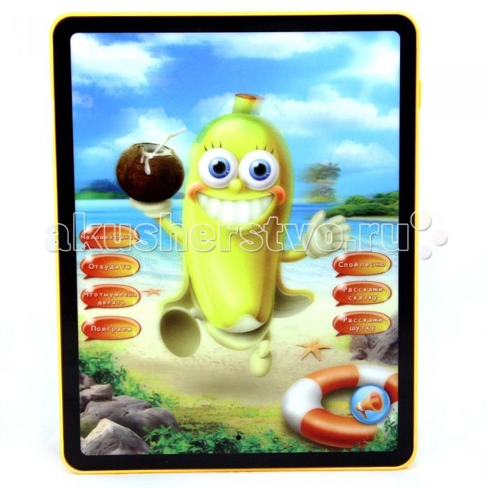 Электронные игрушки Veld CO Планшет интерактивный Человек - банан детские компьютеры veld co обучающий планшет