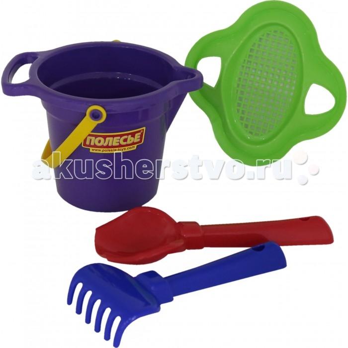 Игрушки для зимы Полесье Набор для песочницы №147 игрушки для зимы полесье набор для песочницы 565