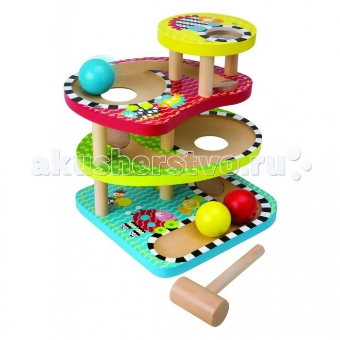 Развивающая игрушка Alex Развивающий деревянный центр Макс - Три шарика