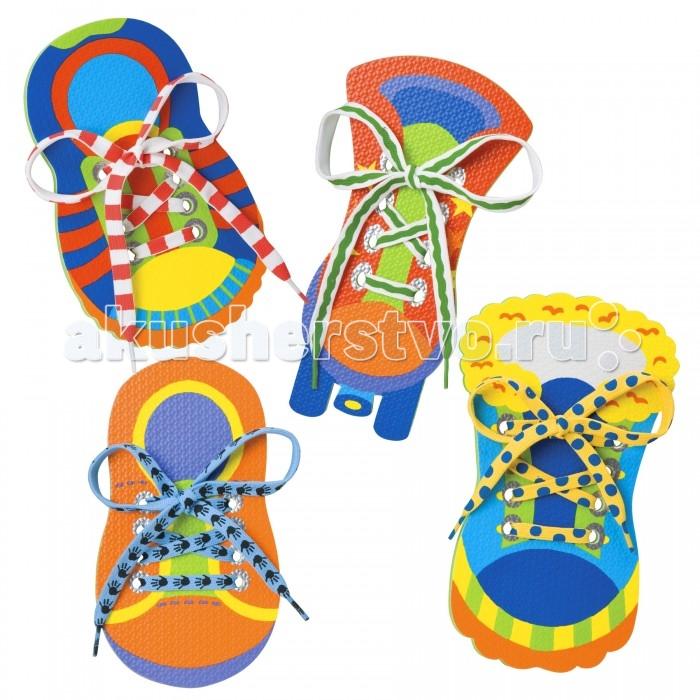 Развивающая игрушка Alex Развивающая игрушка Завяжи шнурки