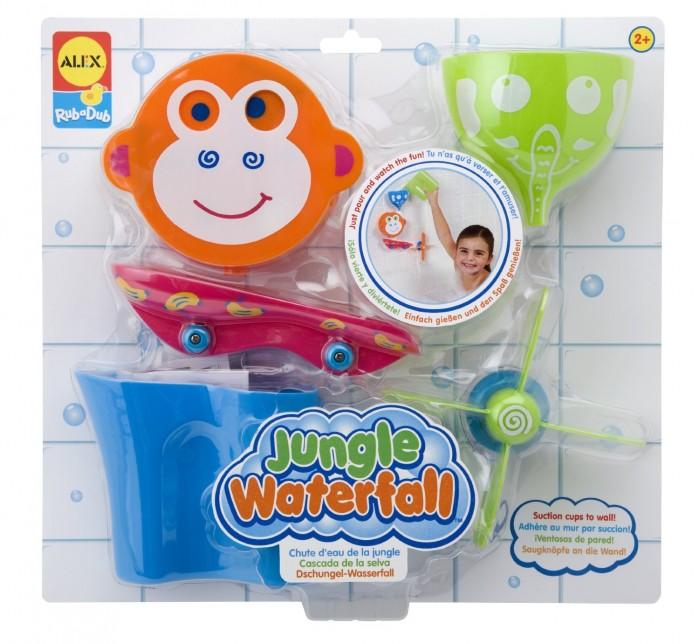 Купание малыша , Игрушки для ванны Alex Набор для ванны Водопад в джунглях арт: 230407 -  Игрушки для ванны