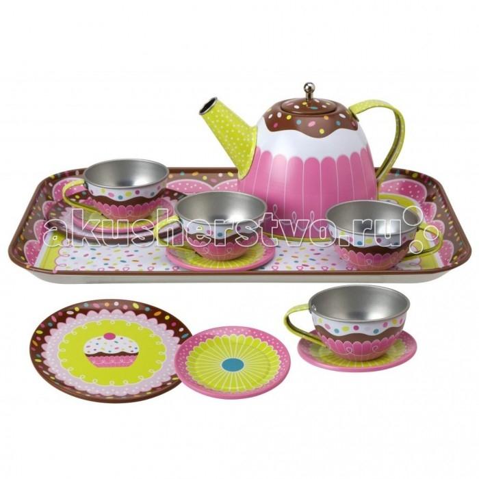 Ролевые игры Alex Чайный сервиз Ямми игровой набор для девочки alex чайный сервиз поймай бабочку