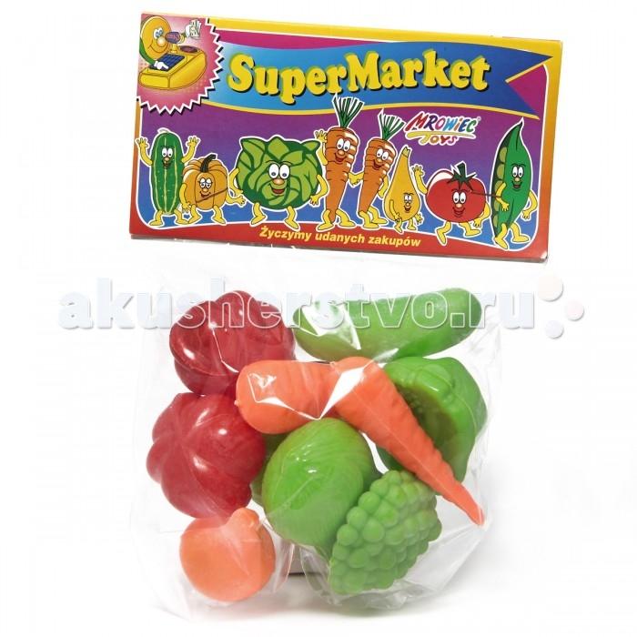 Игровые наборы Veld CO Супермаркет в пакете Овощи 10 шт. подарочные коробки veld co коробка крафт набор из 5 шт 22х22х16 30х30х20 см маки