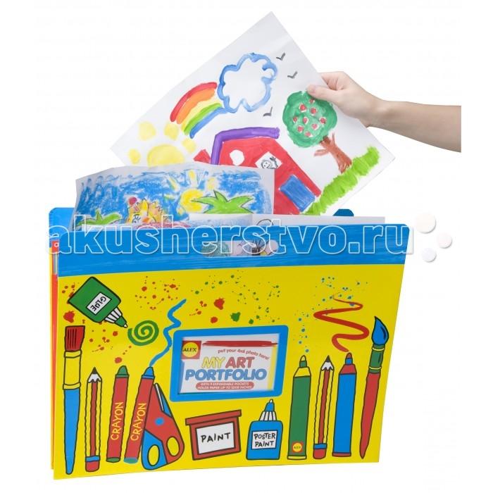 Развитие и школа , Канцелярия Alex Большая папка для детских рисунков и фото 427W арт: 230434 -  Канцелярия