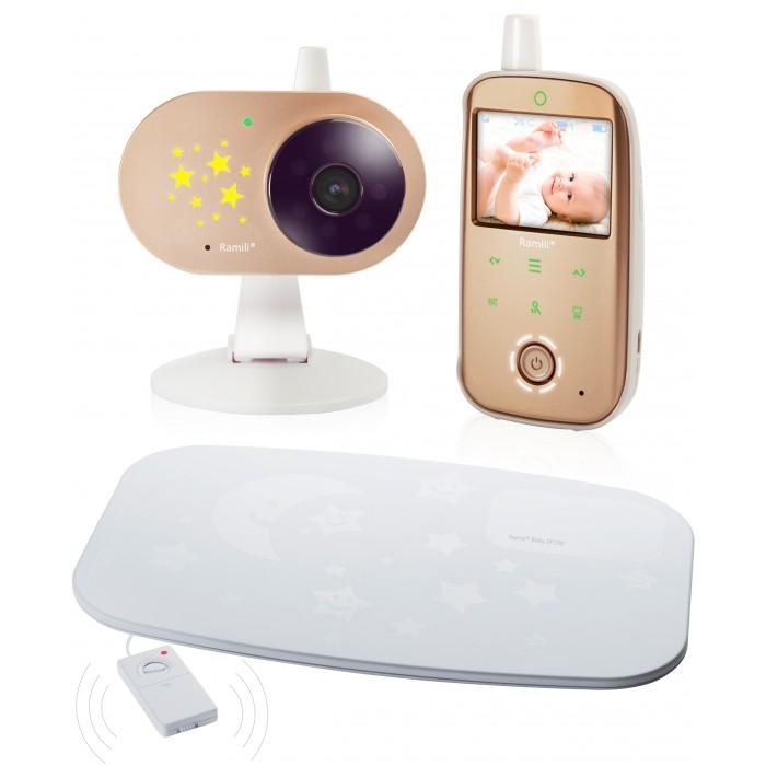 Видеоняни Ramili Видеоняня с монитором дыхания Baby RV1200SP