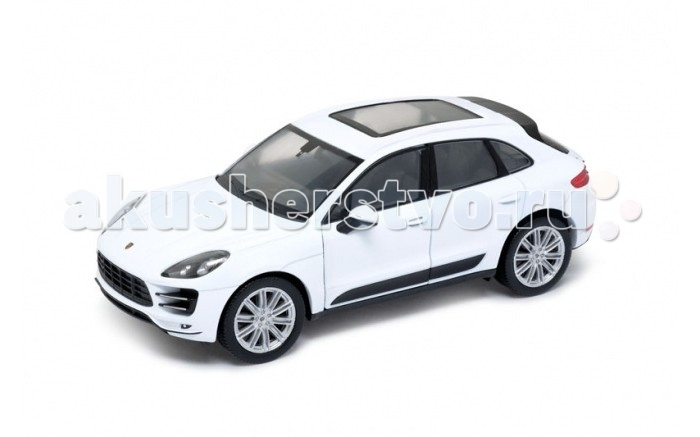 Машины Welly Модель машины 1:24 Porsche Macan Turbo welly welly гараж 3 машины и вертолет