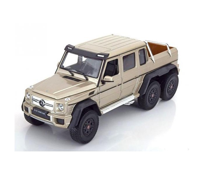 Машины Welly Модель машины 1:24 Mercedes-Benz G63 AMG 6x6 welly welly гараж 3 машины и вертолет
