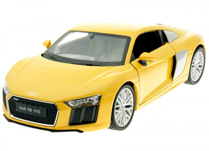 Машины Welly Модель машины 1:24 Audi R8 V10 машина pitstop audi r8 v10 red ps 344996s r