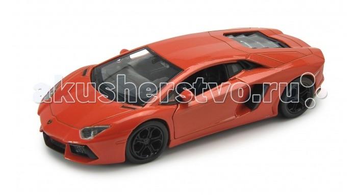 Машины Welly Модель машины 1:34-39 Lamborghini Aventador LP700-4 welly 42317 велли модель машины 1 34 39 lamborghini murcielago
