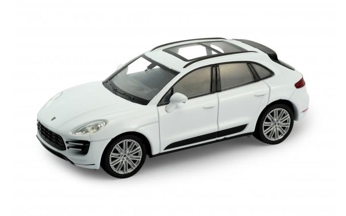 Машины Welly Модель машины 1:34-39 Porsche Macan Turbo welly 49736 велли модель машины 1 34 39 mb v class