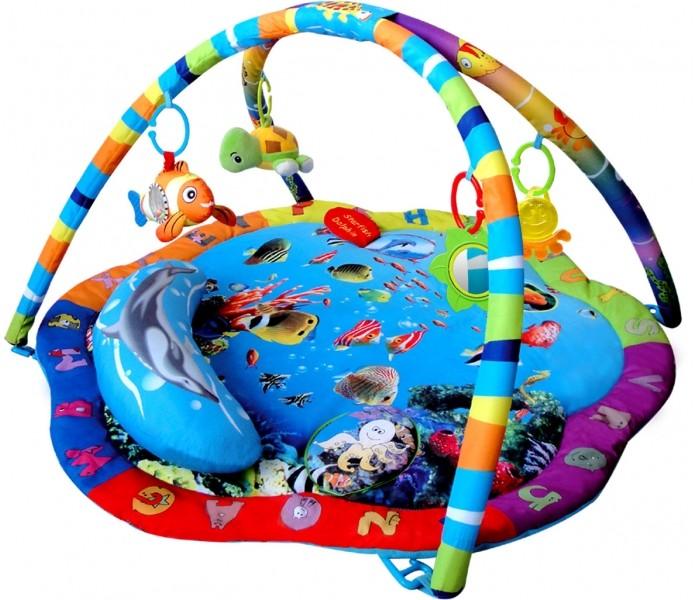 Развивающий коврик Leader Kids с подвесными игрушками Подводный мир