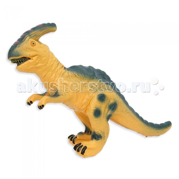 Интерактивная игрушка Veld CO Динозавр ПаразауролофДинозавр ПаразауролофVeld CO Динозавр интерактивный Паразауролоф  Это захватывающий мир доисторических животных и людей, позволяющий познать разнообразие и уникальность живых существ, живущих миллионы лет назад.  Все игрушки ручной работы изготовлены из высококачественных материалов (не содержат ПВХ), с проработанными мельчайшими деталями, что обеспечивает абсолютную безопасность, как для взрослых, так и для детей.  Реагирует на звук.  Возраст: от 3 лет<br>