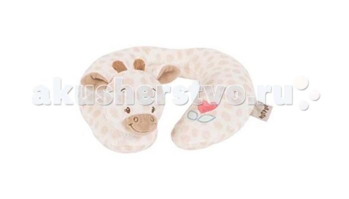 Аксессуары для автомобиля Nattou Подголовник Neck pillow Jack Charlotte & Rose Жираф бортики в кроватку nattou charlotte