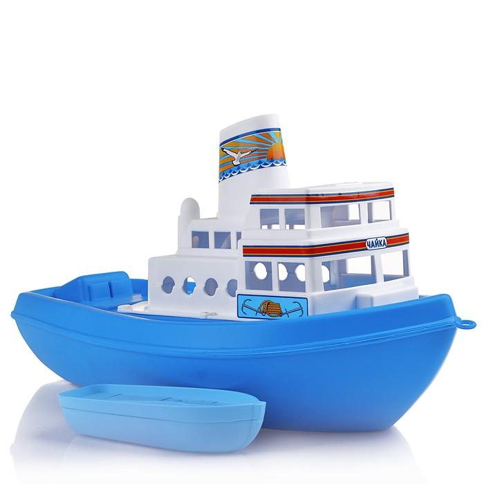 Игрушки для ванны Полесье Игрушка для ванны Кораблик Чайка игрушка полесье корабль чайка 36964