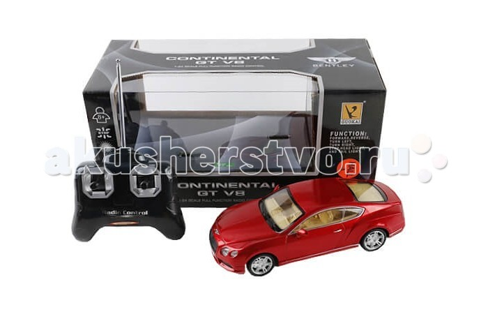 GK Racer Series Машина р/у Bentley continental GT V8 на батарейках 1:24