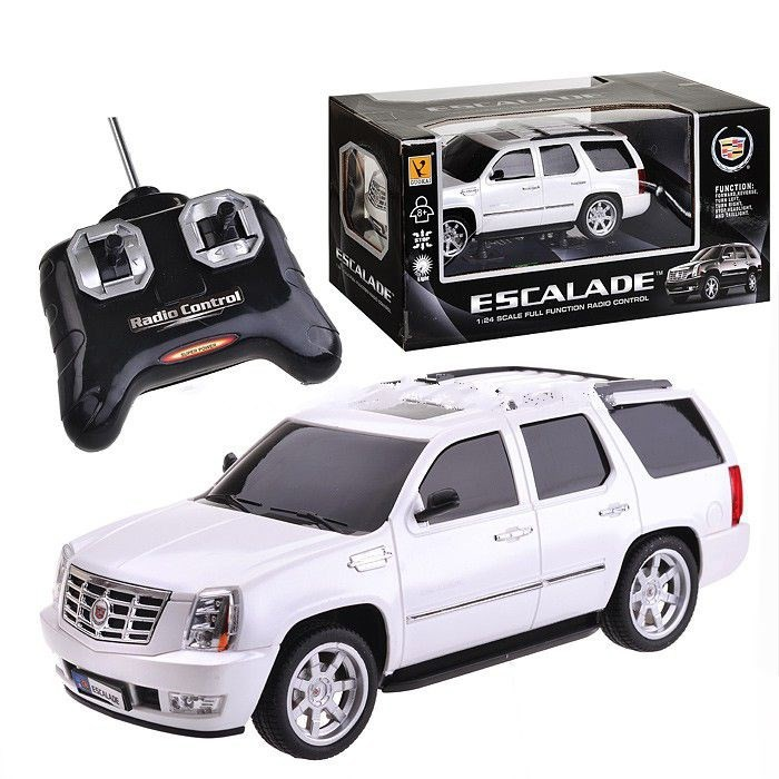 Машины GK Racer Series Машина р/у Cadillac Esclade 1:24 на батарейках model fans instock naruto 45cm hoshigaki kisame gk resin made for collection