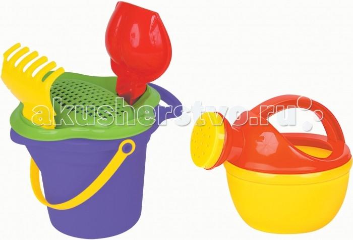 Игрушки в песочницу Полесье Набор для песочницы №346 набор для песочницы полесье 304