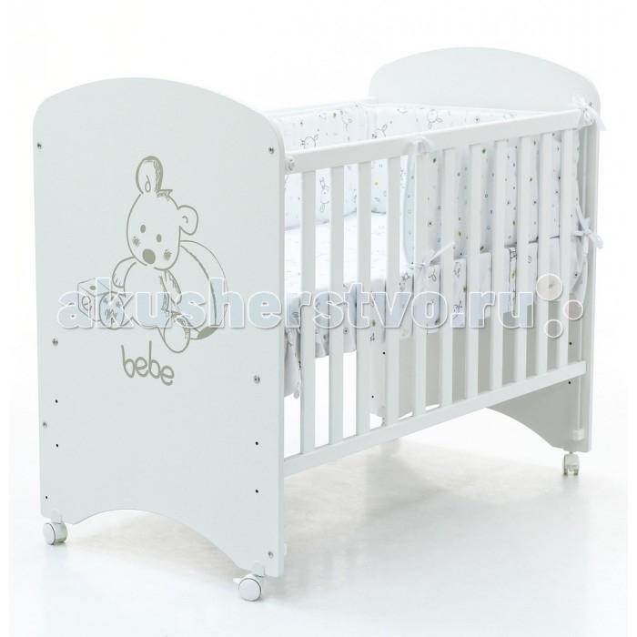 Детская кроватка Micuna Babies 120x60 с матрацем CH-620Babies 120x60 с матрацем CH-620Детская кроватка Micuna Babies 120x60 с матрацем CH-620 Micuna Babies: трогательная забота   Новая кровать Micuna Babies выполнена специально по заказу Lapsi: максимальная функциональность, простая форма, белоснежный цвет – эта кроватка идеально подойдёт как для мальчика, так и для девочки, прекрасно впишется как в современную детскую комнату, так и в классический интерьер. Переднюю панель кровати украшает рисунок трогательного медвежонка, который украсит комнату малыша и будет радовать его каждый день.   Кроватки испанской компании Micuna изготавливаются в Валенсии из экологически чистых материалов. В первую очередь, это бук – традиционное дерево для мебели и музыкальных инструментов. Элементы из МДФ – материала, созданного без применения эпоксидных смол и фенола на основе природного полимера лигнина, дополняют конструкцию. Краски и лак, которыми покрывают кроватки, приготовлены из натуральных компонентов и не создают вредных испарений.   Основные характеристики:  бортик кроватки опускается;  ложе регулируется по высоте – 3 позиции;  посредством снятия бортика кроватка легко превращается в диванчик;  колёсики с блокирующим стопором;  материал: бук, МДФ;  закрытые шурупы и болты;   установка кровати на ящик-маятник CP-1688 не предусмотрена;  в комплект не входит ящик для кровати.<br>