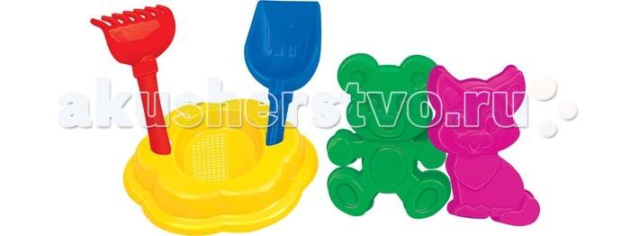 Игрушки для зимы Полесье Набор для песочницы №90 игрушки для зимы полесье набор для песочницы 565