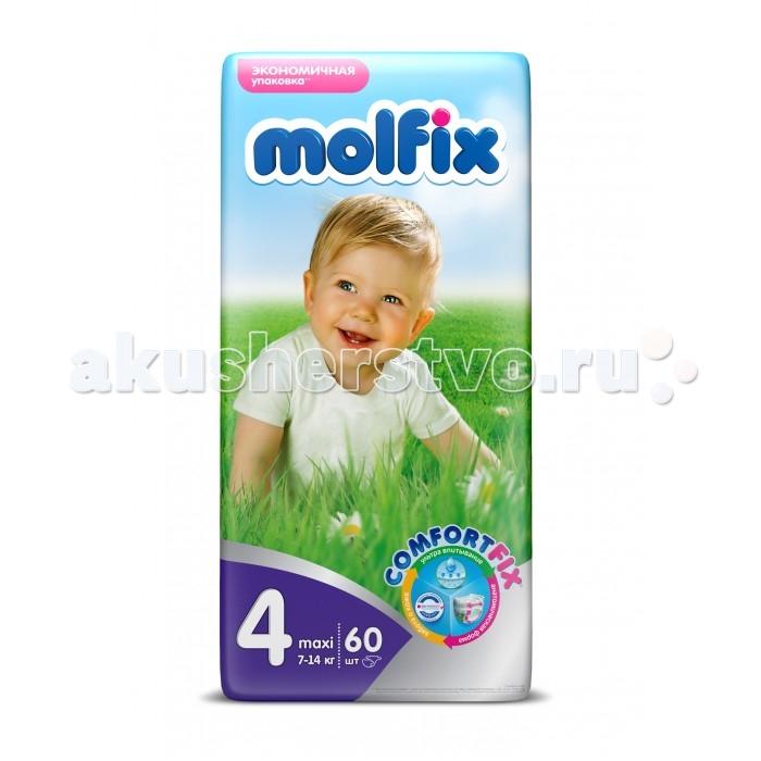 Подгузники Molfix Подгузники Comfort Fix Макси Плюс 9-16 кг 54 шт. подгузники molfix подгузники макси плюс 4 9 20 кг 54 шт