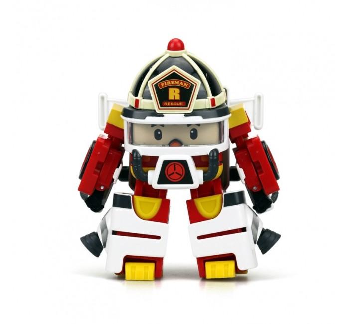 Игровые фигурки Робокар Поли (Robocar Poli) Рой трансформер 10 см + костюм астронавта robocar poli трансформер рой пожарный