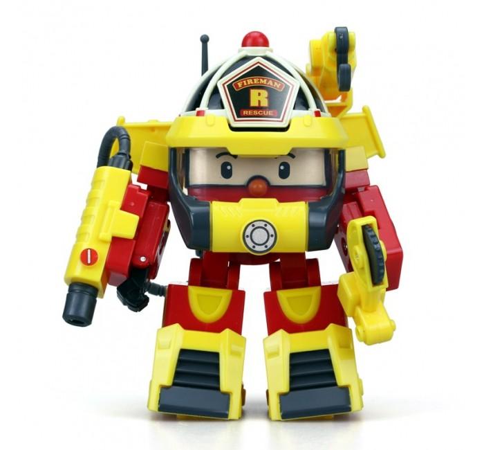 Игровые фигурки Робокар Поли (Robocar Poli) Рой трансформер 10 см + костюм супер пожарного машинка трансформер robocar poli рой