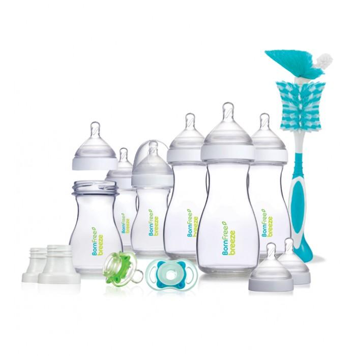 Наборы для кормления BornFree Подарочный набор Breeze Delux пластик, Наборы для кормления - артикул:232126