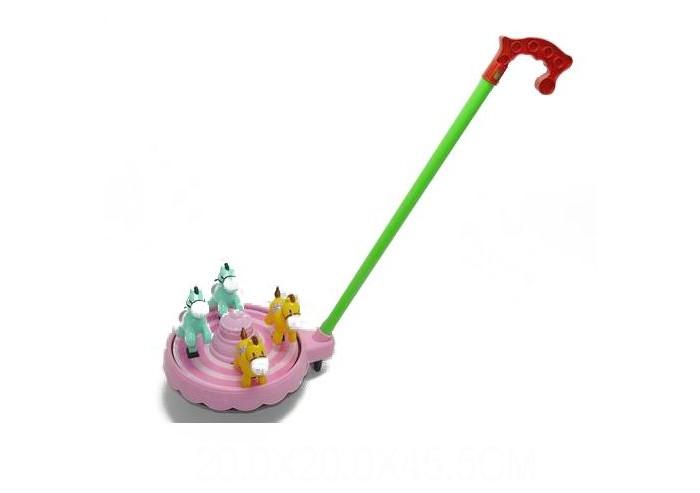 Каталки-игрушки Ami&Co (AmiCo) Лошадь (свет) игрушки подвески amico развивающая игрушка подвеска джунгли
