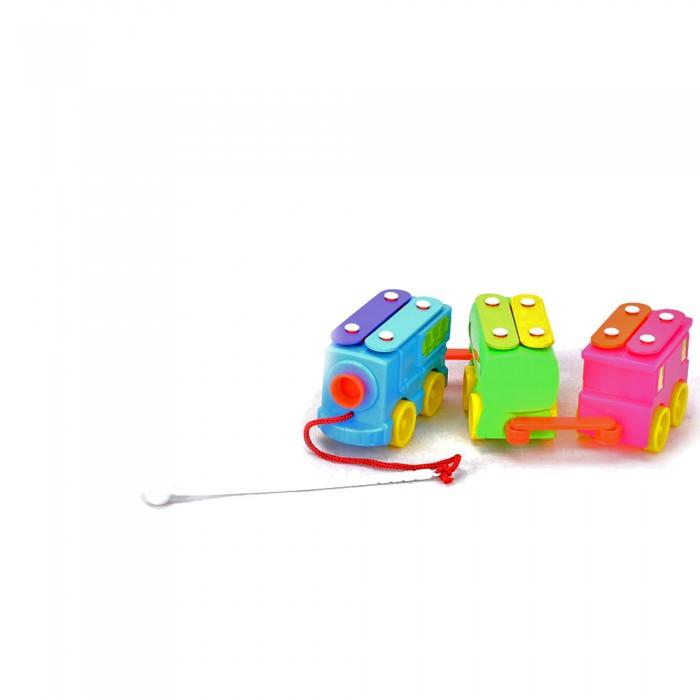 Каталки-игрушки Ami&Co (AmiCo) металлофон на веревочке Топает малыш