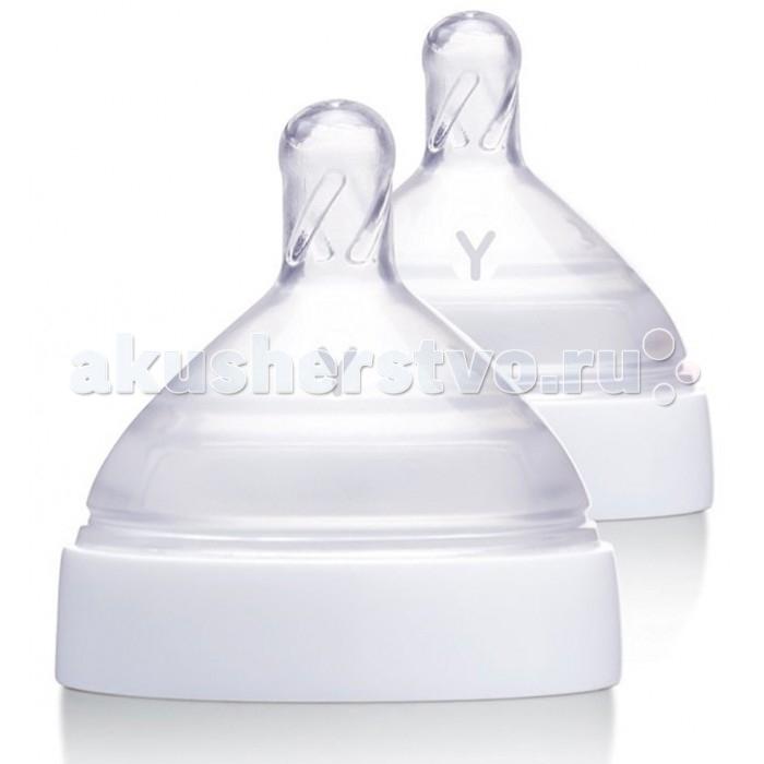Соски BornFree Breeze силиконовая уровень Y 2 шт. наборы для кормления bornfree подарочный набор breeze пластик