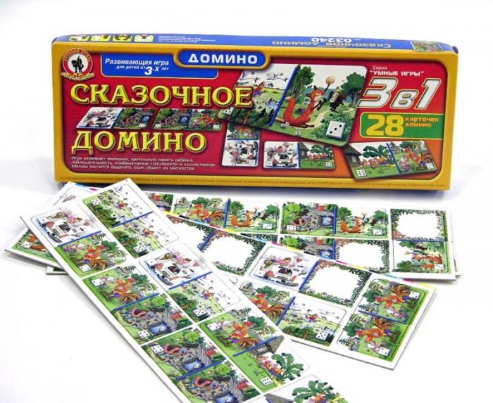 Игры для малышей Русский стиль Домино Сказочное стоимость