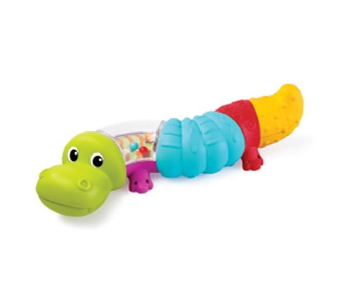 Развивающие игрушки B kids Веселый крокодильчик Sensory погремушка b kids улитка sensory 005182b