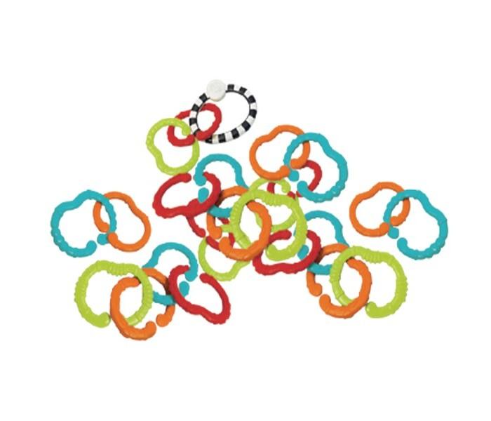 Прорезыватели B kids цепь Веселые колечки 25 шт. кольца колечки кольцо авантюрин водоворот