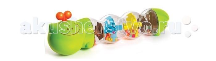 Погремушки B kids Гусеничка с шариками игрушка юла с шариками bkids