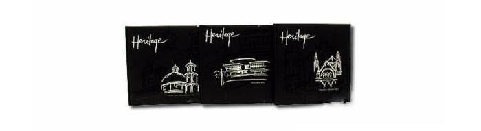 Фотоальбомы и рамки Veld CO Магнитный фотоальбом Heritage 20 листов в кейсе 32х32 см veld co фотоальбом 20 магнитныхлистов 23x28см animal friends