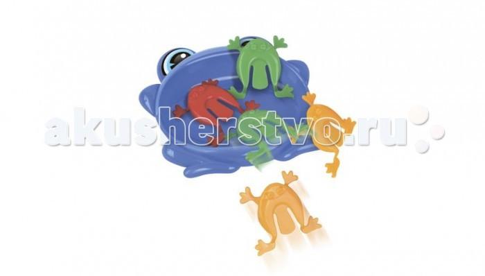Игры для малышей Академия развивающих игр Настольная игра Лягушки - попрыгушки игра прыжки в мешках