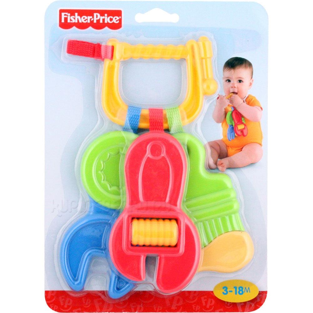 Погремушки Fisher Price Набор инструментов - зубопрорезывателей игрушечные инструменты esschert design набор для исследования насекомых арт kg129 тм esschert design