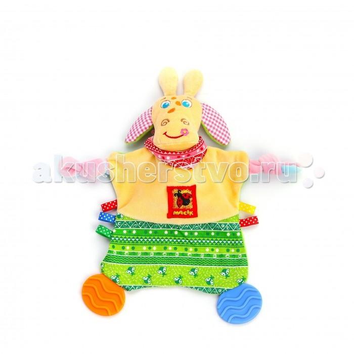 Прорезыватели Macik Зоо Жираф Озорник прорезыватели oball прорезыватель разноцветные ключики