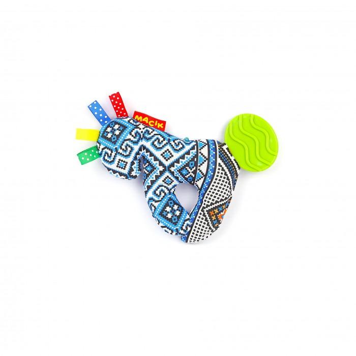 Погремушки Macik Лошадка с прорезывателем погремушка macik треугольник с колечками mkp 1601 03