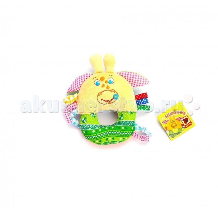 Погремушки Macik кольцо Зоо Жираф Озорник игрушка на пружинке жираф
