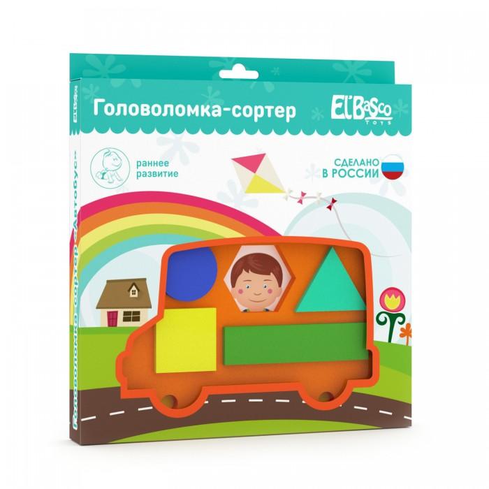 Сортеры ElBascoToys Головоломка Автобус билет на автобус пенза белинский