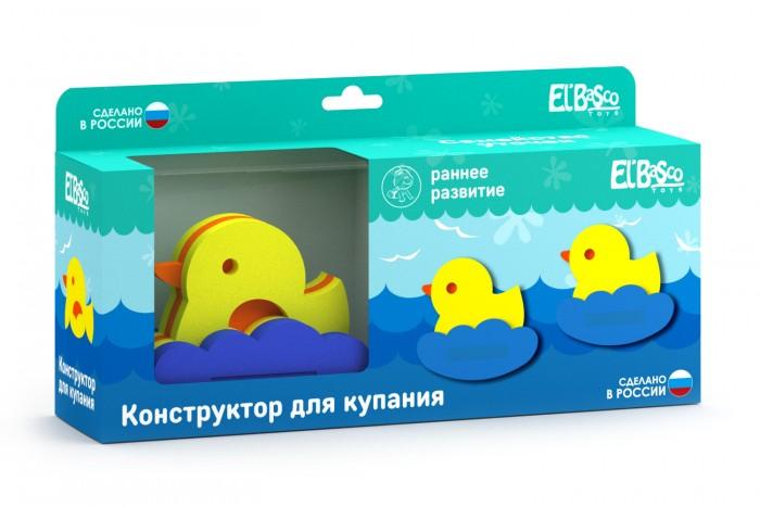 Игрушки для ванны ElBascoToys Игрушка-конструктор для купания Семейство уточек игрушки для ванны сказка игрушка для купания транспорт