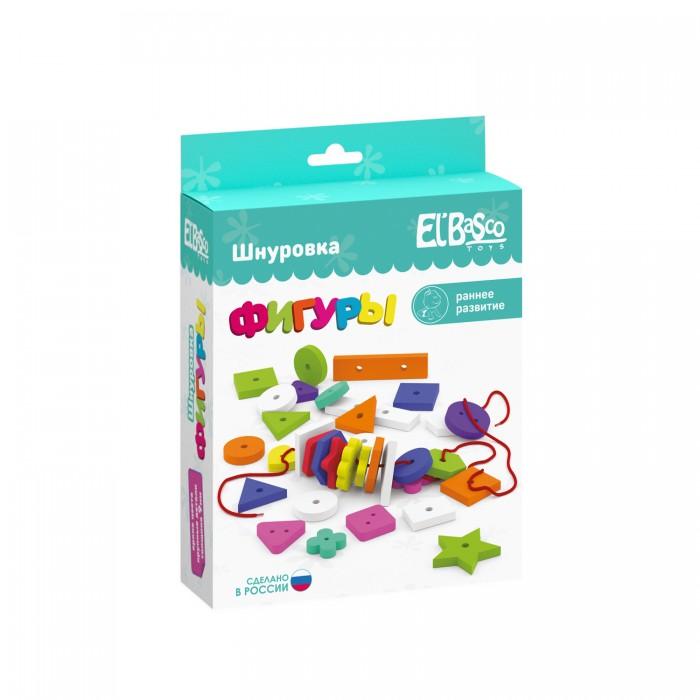 Развивающие игрушки ElBascoToys Шнуровка-россыпь развивающие игры