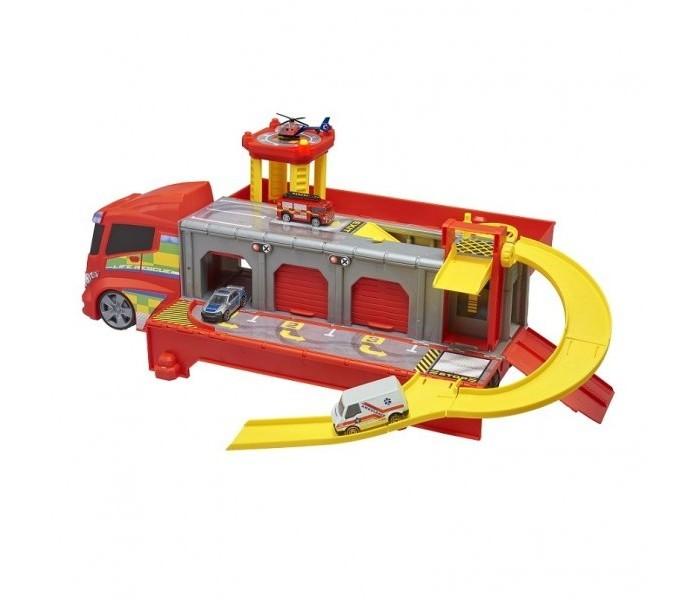 Машины HTI Мобильный центр быстрого реагирования Teamsterz lego 60139 город мобильный командный центр