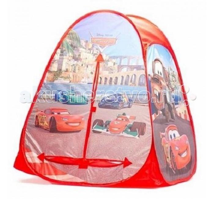 Палатки-домики Играем вместе Дисней игровая палатка Тачки Диснея в сумке играем вместе пластилин в ведре тачки 7 цветов