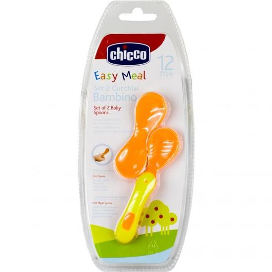 Столовые приборы Chicco Ложка мягкая 12+ chicco ложка силиконовая мягкая 6