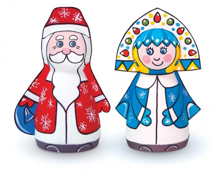 Заготовки под роспись Шар-папье Набор для творчества Дед Мороз и Снегурочка заготовки под роспись шар папье набор для творчества петушок