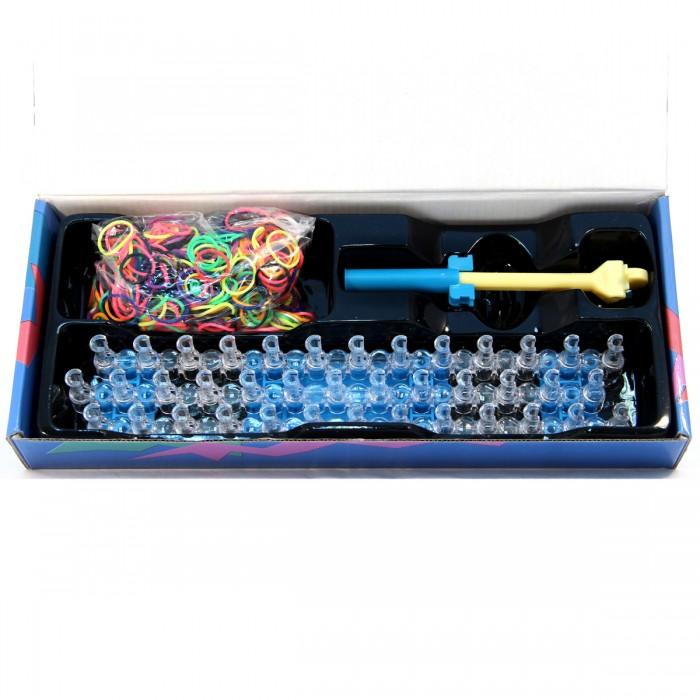 все цены на  Наборы для творчества Veld CO Набор для плетения браслета 600 резиночек 40196  в интернете
