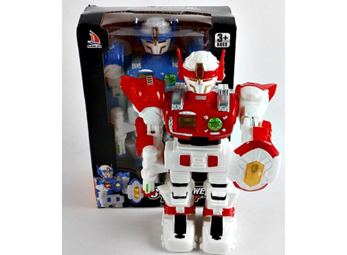 Роботы Veld CO Робот электронный, свет, звук 47253 family penguin детский умный электрический робот радиоуправляемые игрушки электронный